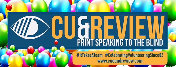 Cue and Review logo