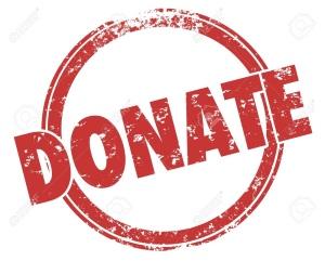 Donation logo.